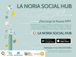 """La aplicación """"La Noria Social Hub"""""""
