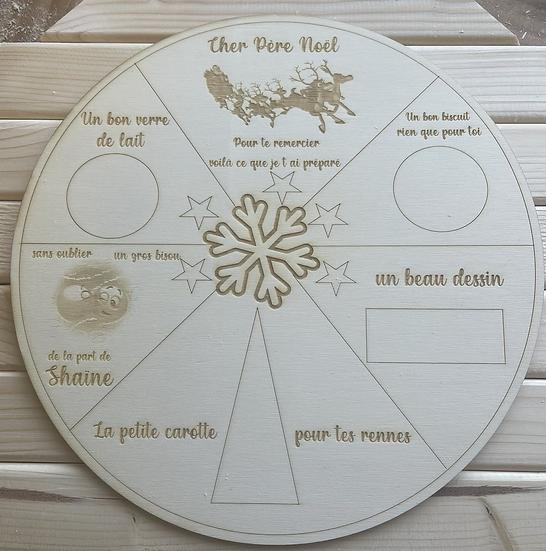 Plateau Père Noël