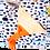 Thumbnail: Plaid/ mer, jaune, orange