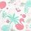 Thumbnail: Plaid flamand rose, rose bonbon, rose poudré
