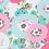Thumbnail: Plaid/Couverture flowers, opal, rose bonbon