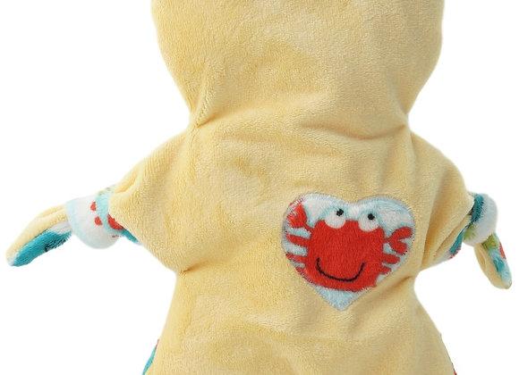 FLAT CAT jaune,crabe