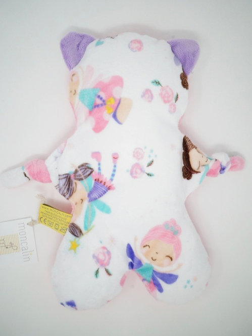 FLAT CAT poupée, rose bonbon, lila