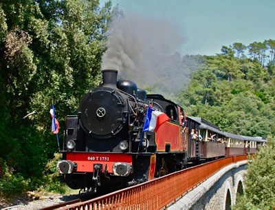 Train à vapeur des Cévennes