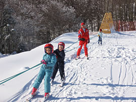 Ski à Prat Peyrot