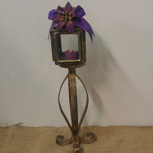 Candle Holder with Battery Operated Candle