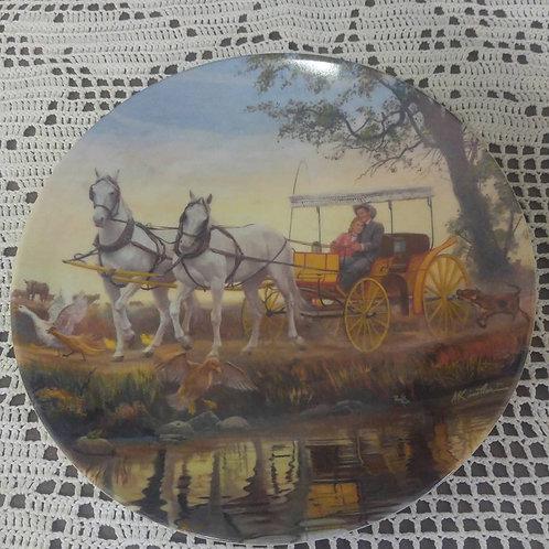 Oklahoma Collector Plate