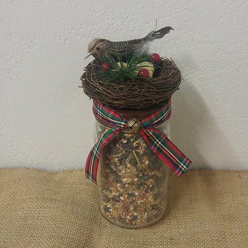 Quart Birdseed Jar