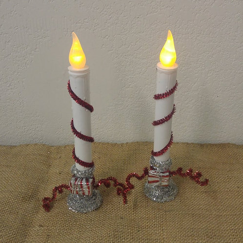 Pair of Christmas Candle's