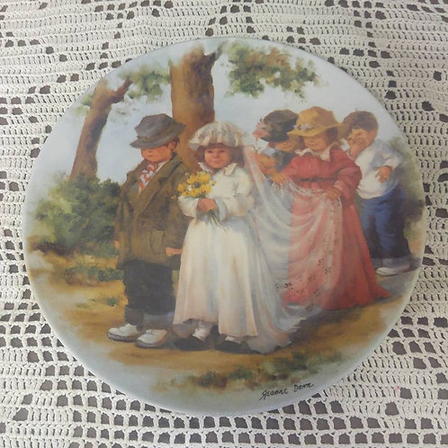 Here Comes the Bride Collector Plate