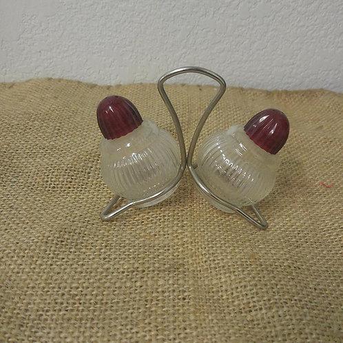Pair of Vintage Salt and Pepper Shaker's
