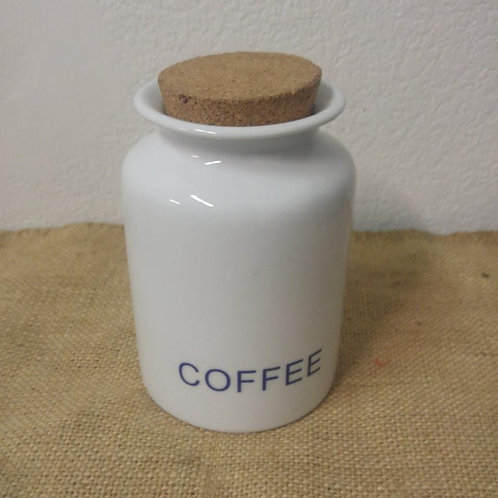 Porcelain Coffee Cannister