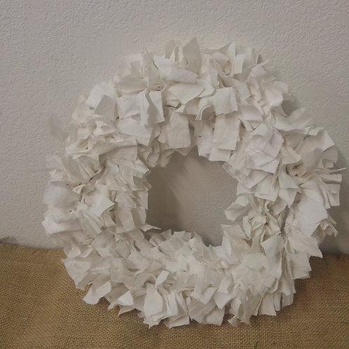 "13"" Rag Wreath"