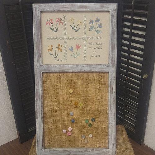 Flower Corkboard
