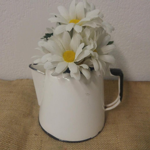 Daisies in a Vintage Coffe-Pot