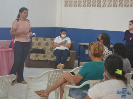Prefeitura realiza encontro com mulheres acompanhadas pelo PAIF