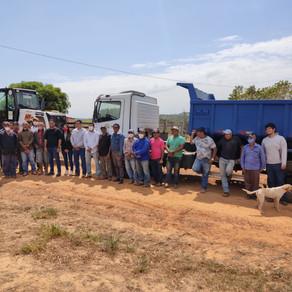 Prefeitura inicia recuperação de ramais no Projeto de Assentamento Alcoobrás