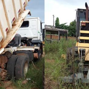 Máquinas abandonadas são recuperadas e estão atendendo a população rural do Município