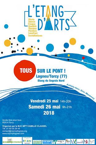 Affiche Etang d'Arts 2018