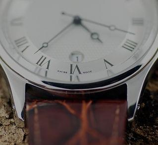 Bis Ende des Schweizer Luxus-Leder-Uhr