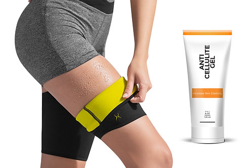 Hot Leg Sleeves + HV Anti-Cellulite Gel (4 oz)