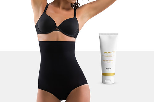 Slimming Tummy Control Panties with Toning Body Cream (6 Oz)