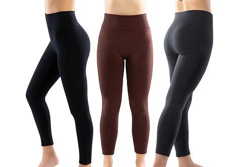 Genie Leggings (Black, Charcoal, Brown)