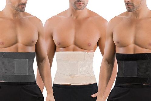 V Shape Trainer, Mr. Belt Black, Sbelt Beige Men