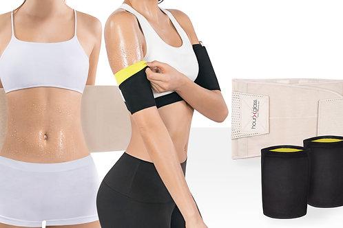 Genie Hourglass with Neoprene (BG) + Hot Arm Sleeves