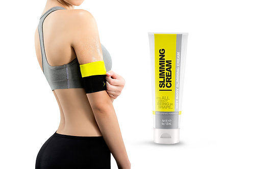Women's Arm Trimmer Shapers with Slimming Cream (4 oz)