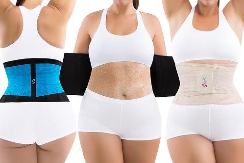 Women's Plus Size Sauna Slimming Waist Trainer Belt