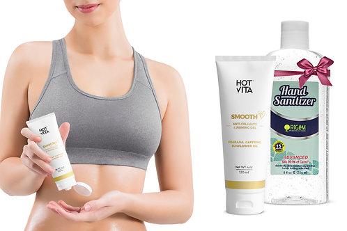 Hand Moisturizing Cream with Free Hand Sanitizer (8 oz)