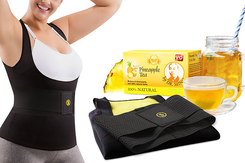 Cami Hot Women Plus + IT +  Dr Ming's Pineapple Tea (15-pack)