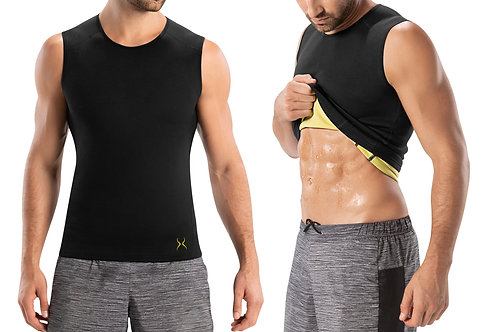 Men's Compression Sweat Tank Top for Home Workout