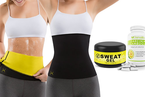 Hot Belt Women + HV Thermo Active (4 oz) + Benelife GC