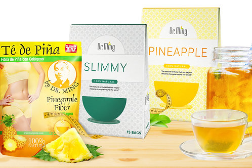 Dr. Ming's Pineapple Tea - Dr. Ming's Slimmy Tea - Dr. Ming's Pineapple Fiber