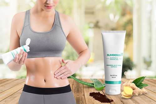 Women's Tone Abs and Slimming Body Gel (6 oz)