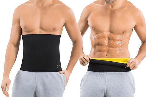Men's Sweat Belt Ab Stimulator for Home Workouts