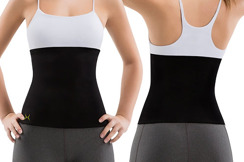 Women's Waist Trimmer for Home Workouts with Slimming Gel (4 oz)