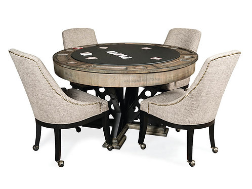 Vienna Game Table w/4 Chairs