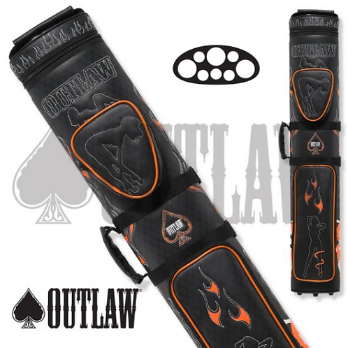 Outlaw Flames 3x5 Hard Case - OLB35D