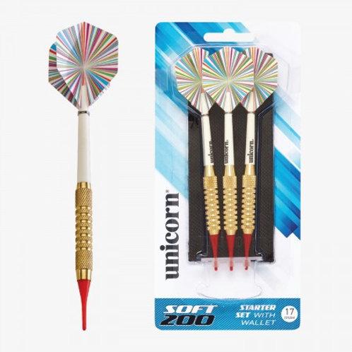 D71910 Unicorn® Soft Tipped 200 Dart Set