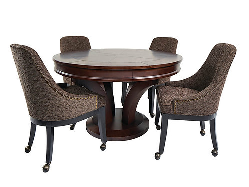 Hamilton Game Table w/ 4 Chairs