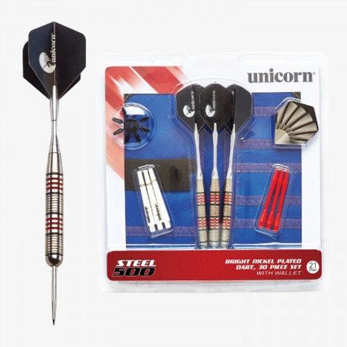 D71823 Unicorn® Steel Tipped 500 Dart Set