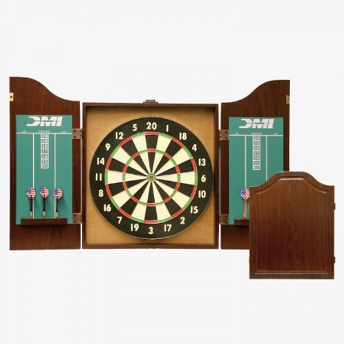 CABSET2010 DMI® Recreational Dartboard Cabinet (Rosewood)