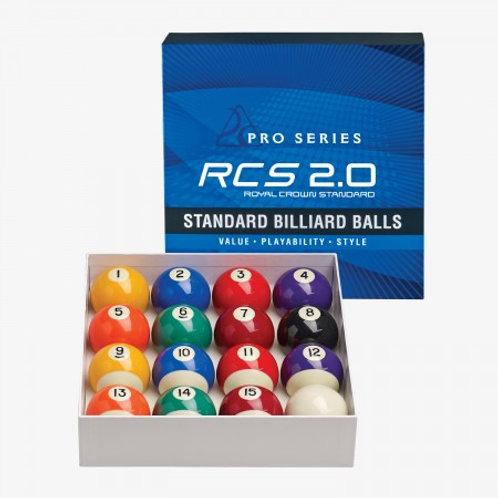 RCS2.0 Pro Series Standard Billiard Ball Set