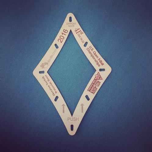 ACCU-RACK DIAMOND 9 TEMPLATE