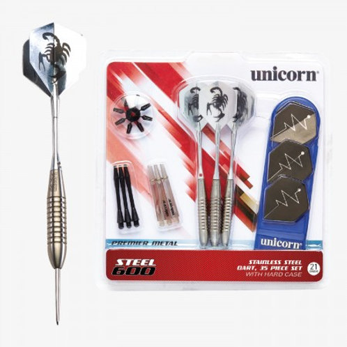 D71827 Unicorn® Steel Tipped 600 Dart Set
