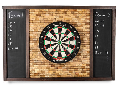 Wine Cork Dartboard Cabinet