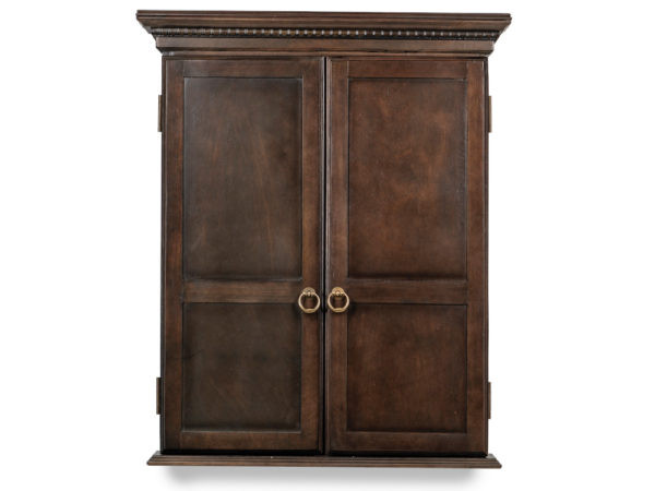 Classic-Dartboard-Cabinet-Close-Gray-Wal